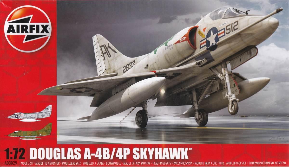 Airfix-A03029-Douglas-A-4B-Skyhawk-1 Douglas A-4B Skyhawk in 1:72 von Airfix A03029