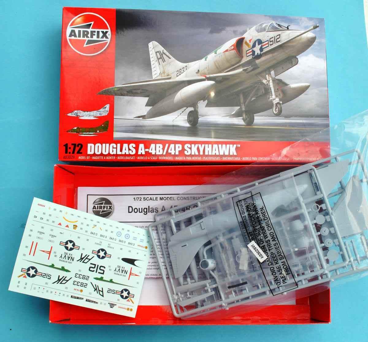 Airfix-A03029-Douglas-A-4B-Skyhawk-11 Douglas A-4B Skyhawk in 1:72 von Airfix A03029