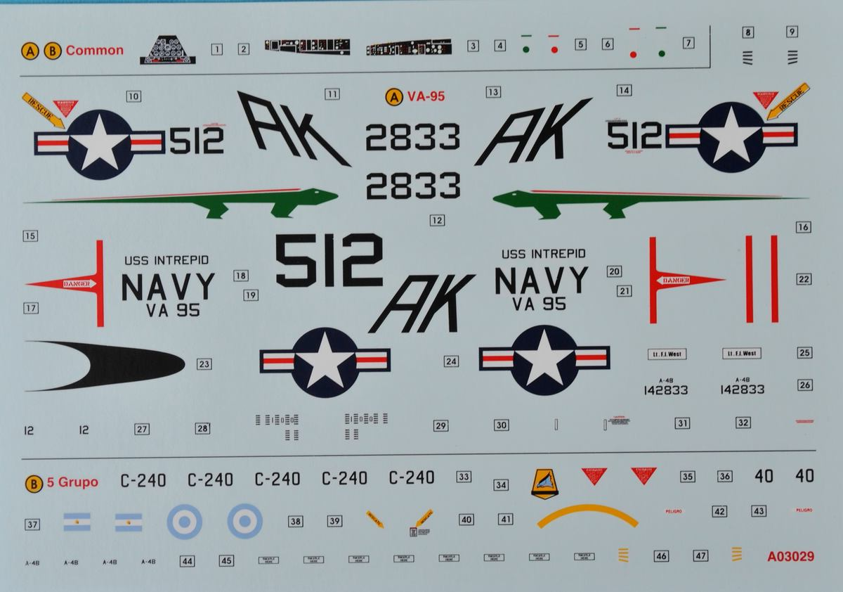 Airfix-A03029-Douglas-A-4B-Skyhawk-13 Douglas A-4B Skyhawk in 1:72 von Airfix A03029