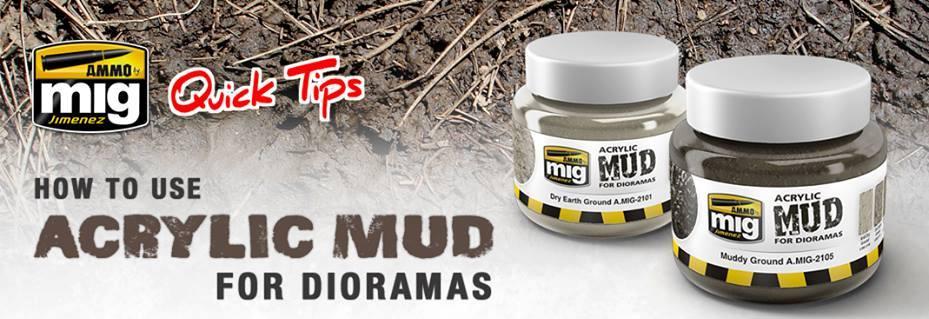 Ammo-by-Mig-Acrylic-Mud-for-Dioramas Acrylic Mud for dioramas - ein neuer Quicktip von Ammo by Mig