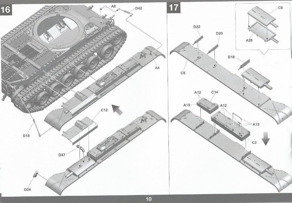 Anleitung11-1024x711 M47/G Patton 1:35 Takom (#2070)