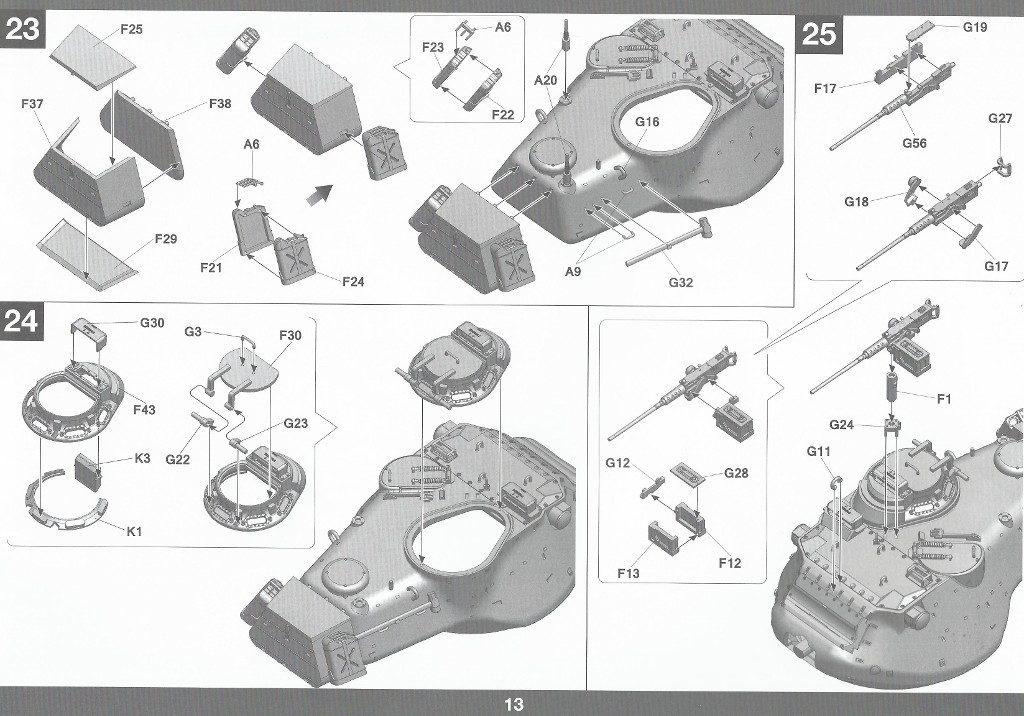 Anleitung14-1024x716 M47/G Patton 1:35 Takom (#2070)