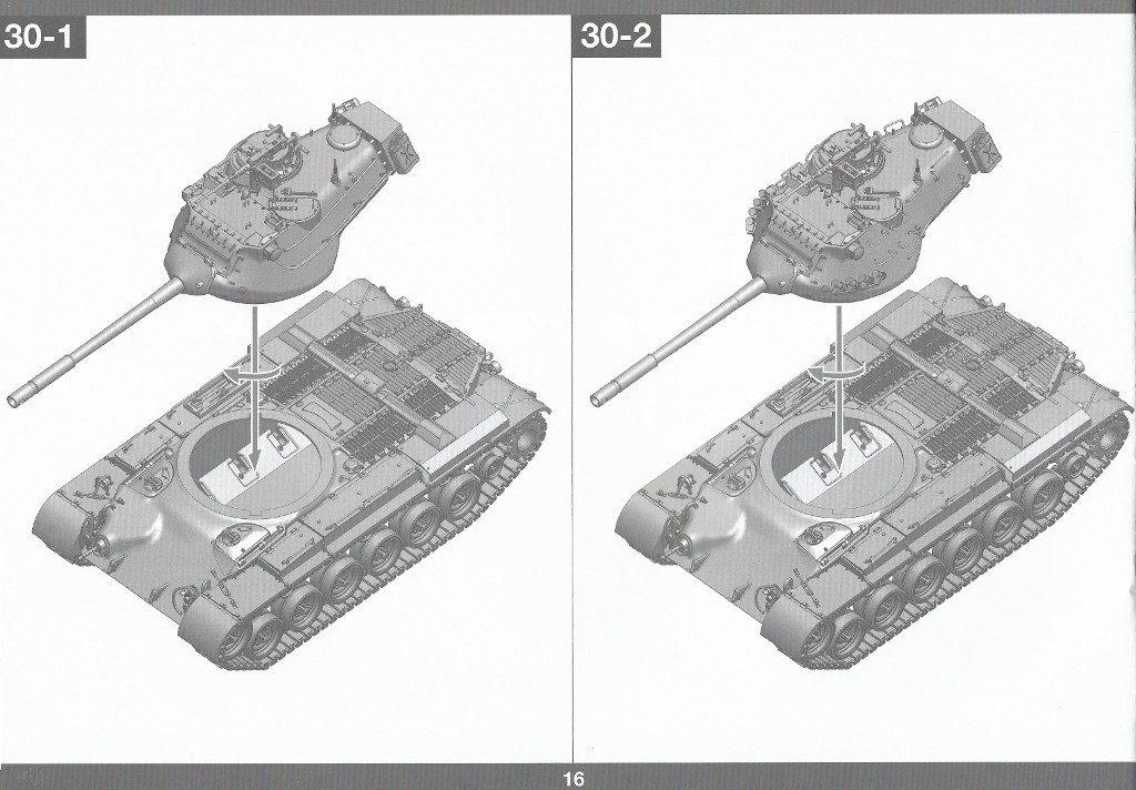 Anleitung17-1024x712 M47/G Patton 1:35 Takom (#2070)