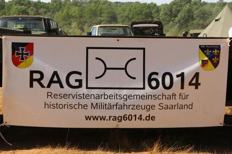 Banner 7. Int. Militärfahrzeugtreffen der RAG 6014 vom 06. - 09.07.2017