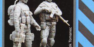 Canadian Soldier Team in Afghanistan – Black Dog 1/35  —  #F35018