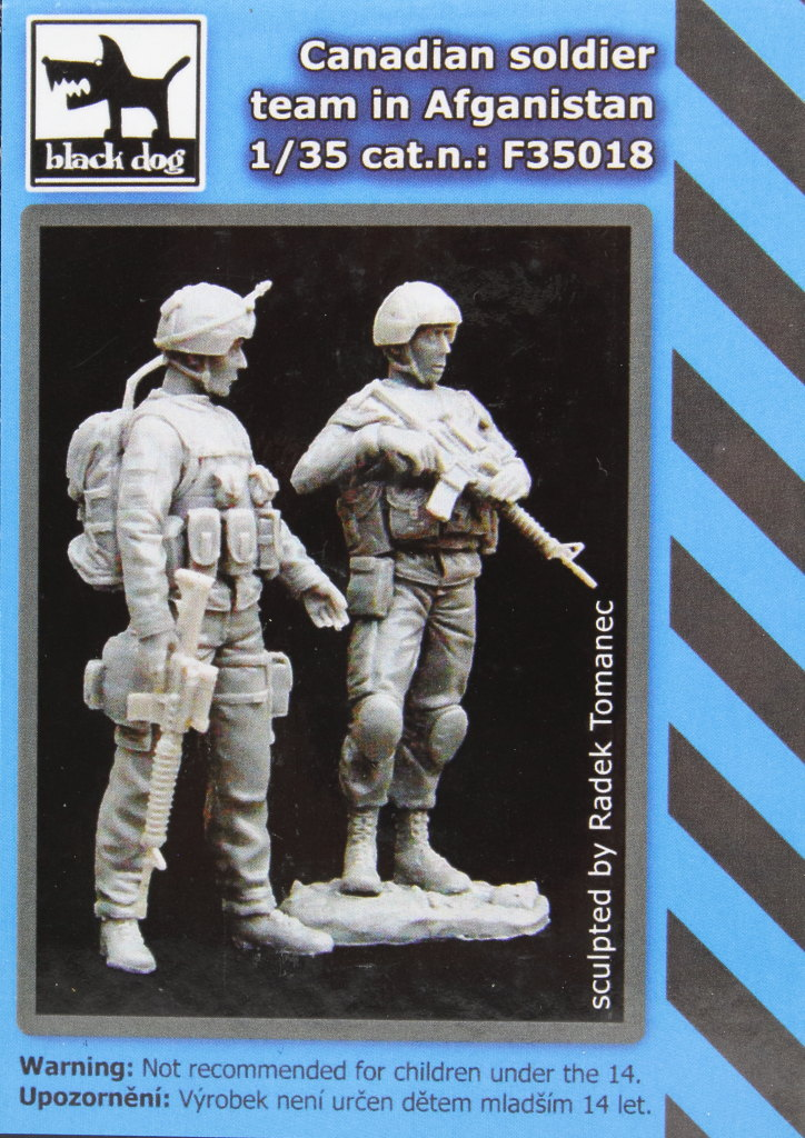 Black-Dog_Canadian-Soldiers_14 Canadian Soldier Team in Afghanistan - Black Dog 1/35  ---  #F35018