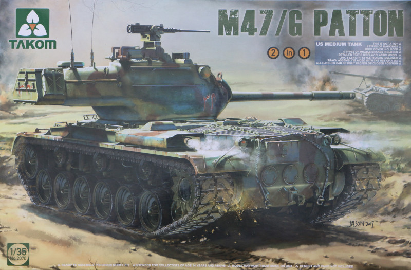 Box M47/G Patton 1:35 Takom (#2070)