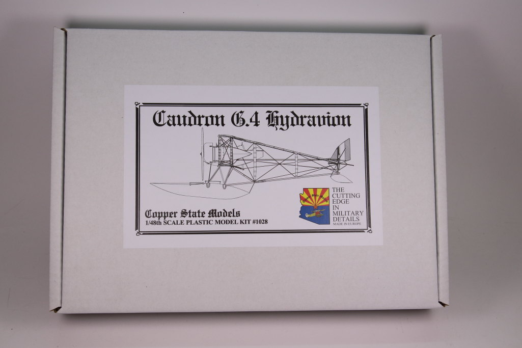 Caudron_G.IV_Hydravion_01 Caudron G.IV Hydravion – Copper State Models 1/48 — #CSM 1028