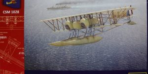 Caudron G.IV Hydravion – Copper State Models 1/48 — #CSM 1028