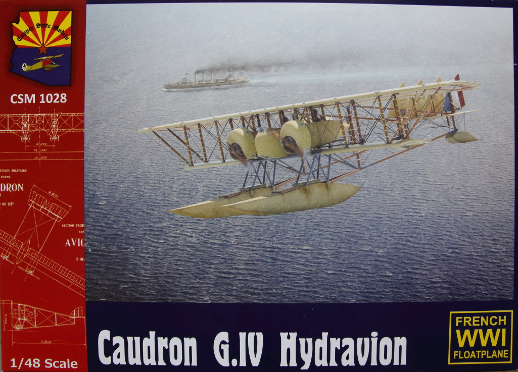 Caudron_G.IV_Hydravion_45 Caudron G.IV Hydravion – Copper State Models 1/48 — #CSM 1028