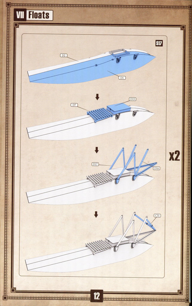 Caudron_G.IV_Hydravion_56 Caudron G.IV Hydravion – Copper State Models 1/48 — #CSM 1028