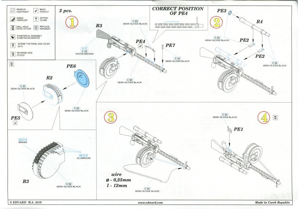 Eduard_MG14_17_Parabellum_06 MG-14 und MG-14/17 Parabellum WWI Gun - Eduard BRASSIN 1/48