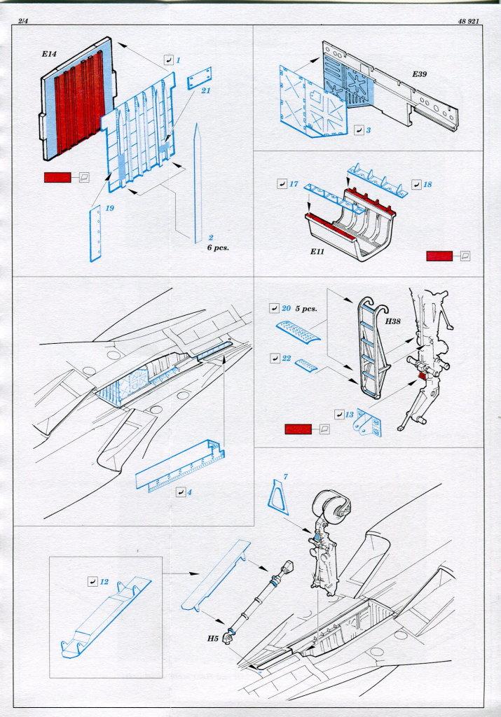 Eduard_Su-34_exterior_03 Eduard-Zubehör für die Su-34 von Hobby Boss TEIL 1 - 1/48