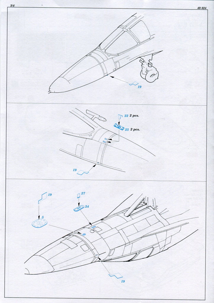 Eduard_Su-34_interior_05 Eduard-Zubehör für die Su-34 von Hobby Boss TEIL 1 - 1/48