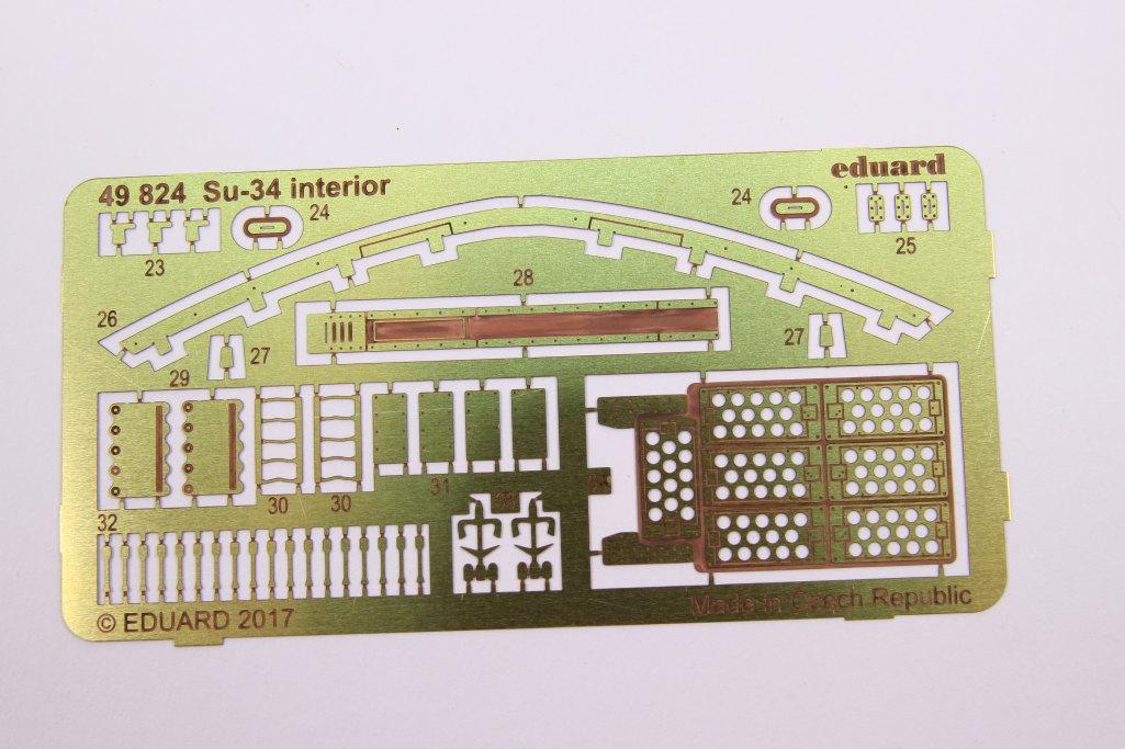 Eduard_Su-34_interior_09 Eduard-Zubehör für die Su-34 von Hobby Boss TEIL 1 - 1/48