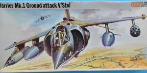 Kit-Nostalgie: Harrier Mk. I in 1:72 von FROG
