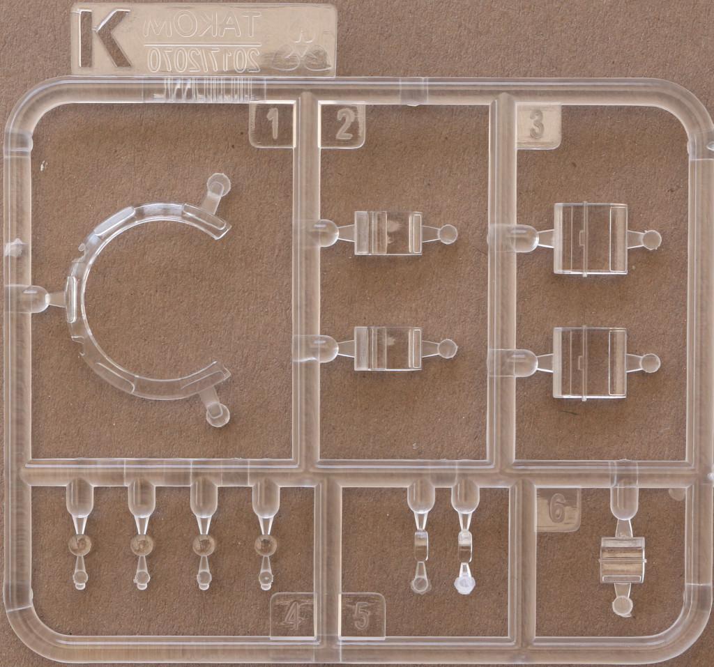 Klarsichtteile M47/G Patton 1:35 Takom (#2070)
