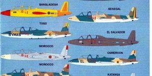 International Fouga Magister Selection 1:72 von Max Decals ( # MAX 7223 )