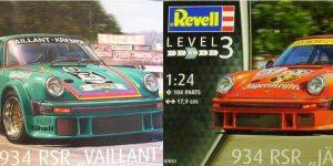 Porsche 934 RSR Jägermeister / Vaillant von Revell in 1:24