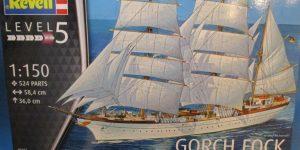 Segelschulschiff Gorch Fock von Revell 1:150 (# 05417)