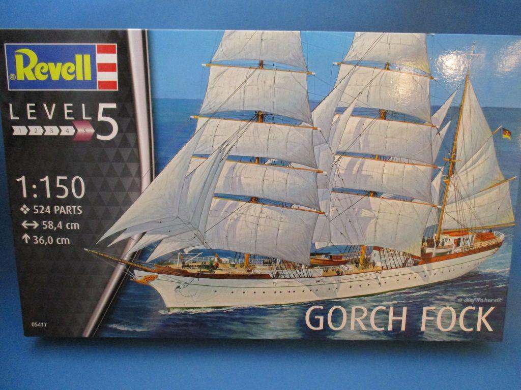 Revell-05417-Gorch-Fock-Deckelbild Segelschulschiff Gorch Fock von Revell 1:150 (# 05417)