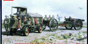 FWD 3ton Model B und BL 3 inch Howitzer von Roden in 1:72
