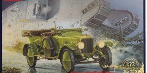 Vauxhall D-Type British Staff Car in 1:72 von Roden