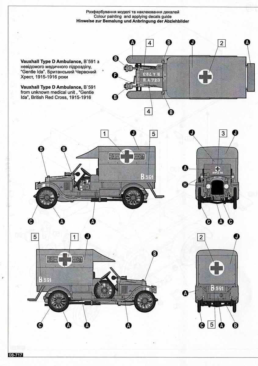 Roden-Vauxhall-D-Type-Ambulance-1 Vauxhall D-Type Ambulance in 1:72 von Roden
