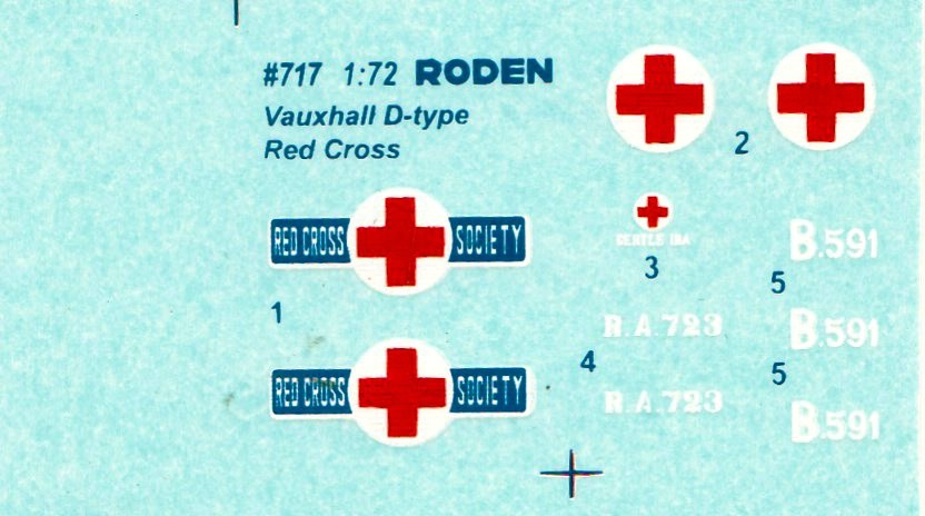 Roden-Vauxhall-D-Type-Ambulance-10 Vauxhall D-Type Ambulance in 1:72 von Roden