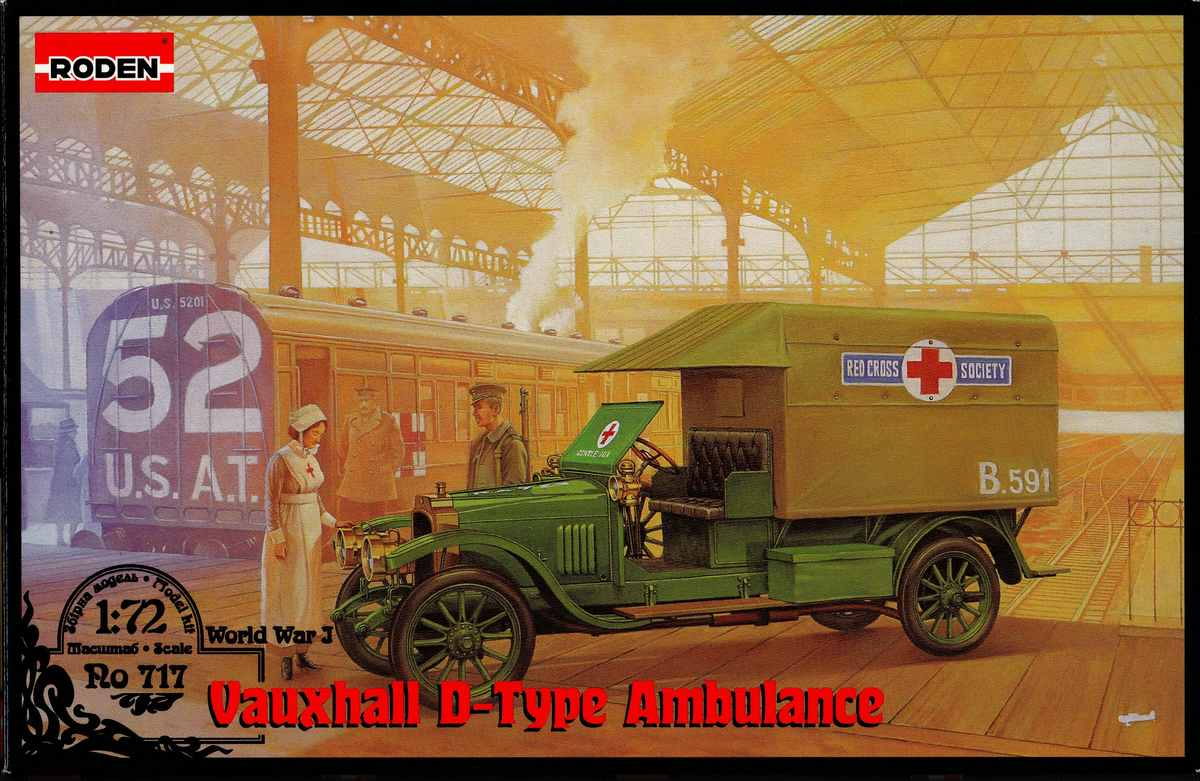 Roden-Vauxhall-D-Type-Ambulance-8 Vauxhall D-Type Ambulance in 1:72 von Roden