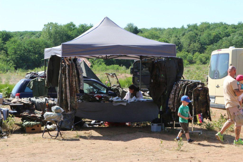 Zelt1-1024x683 7. Int. Militärfahrzeugtreffen der RAG 6014 vom 06. - 09.07.2017