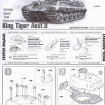Zvezda-5023-Königstiger-Ausf.-B-mit-henschelturm-4-150x150 Königstiger Ausf. B (Henschelturm) in 1:72 von Zvezda ( 5023)