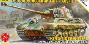 Königstiger Ausf. B (Henschelturm) in 1:72 von Zvezda ( 5023)