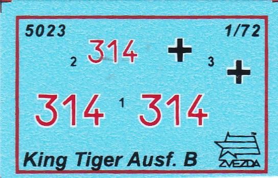 Zvezda-5023-Königstiger-Ausf.-B-mit-henschelturm-3 Königstiger Ausf. B (Henschelturm) in 1:72 von Zvezda ( 5023)