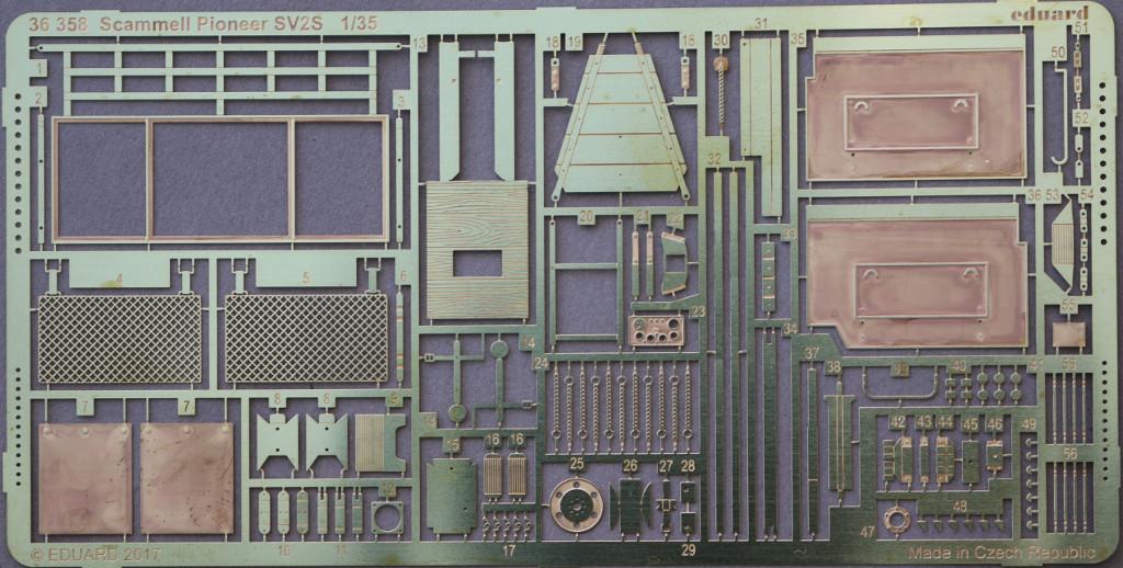 1-1 Scammell Pioneer SV2S for IBG Kit 1:35 Eduard (#36358)