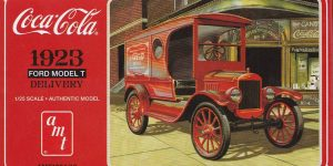 Ford Model T Delivery Van von AMT (Round 2) in 1:24