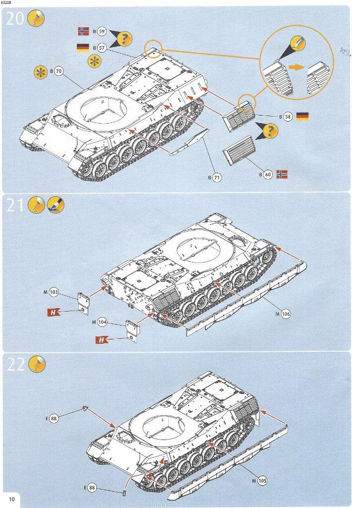 Anleitung10-711x1024 Leopard 1A1 1:35 Revell (#03258 )