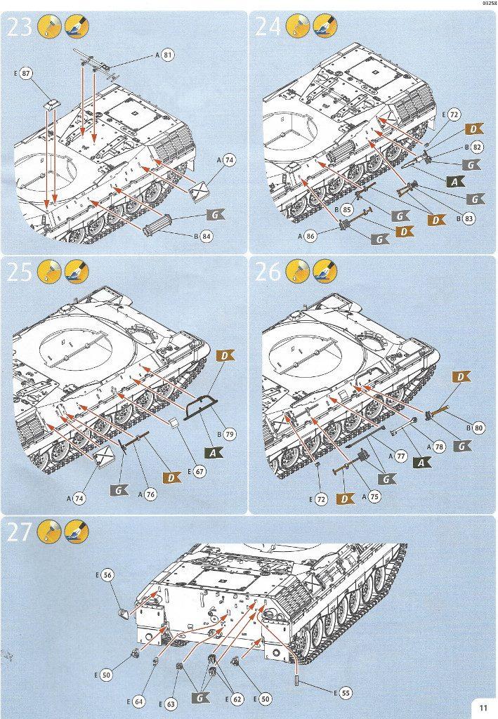Anleitung11-709x1024 Leopard 1A1 1:35 Revell (#03258 )