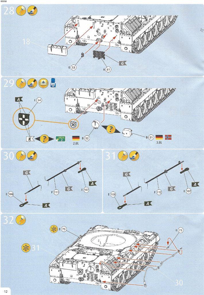 Anleitung12-710x1024 Leopard 1A1 1:35 Revell (#03258 )