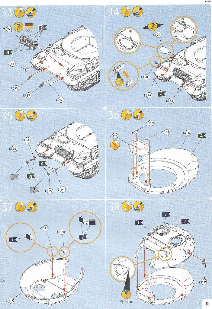 Anleitung13-702x1024 Leopard 1A1 1:35 Revell (#03258 )