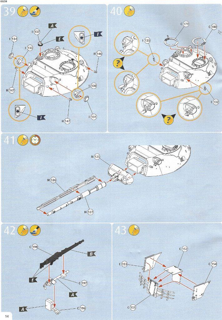 Anleitung14-710x1024 Leopard 1A1 1:35 Revell (#03258 )
