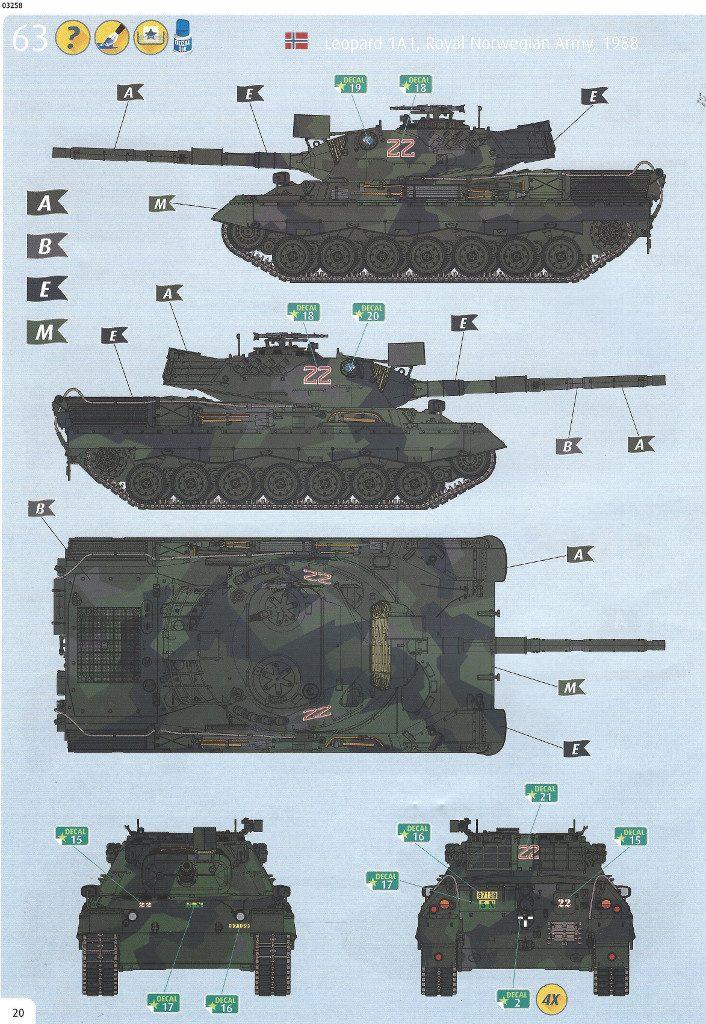 Anleitung20-706x1024 Leopard 1A1 1:35 Revell (#03258 )