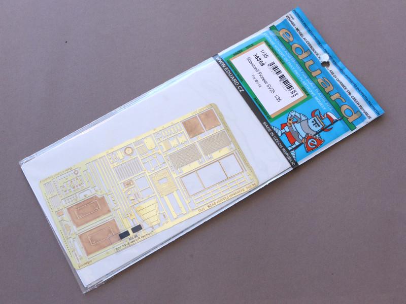 Box-1 Scammell Pioneer SV2S for IBG Kit 1:35 Eduard (#36358)
