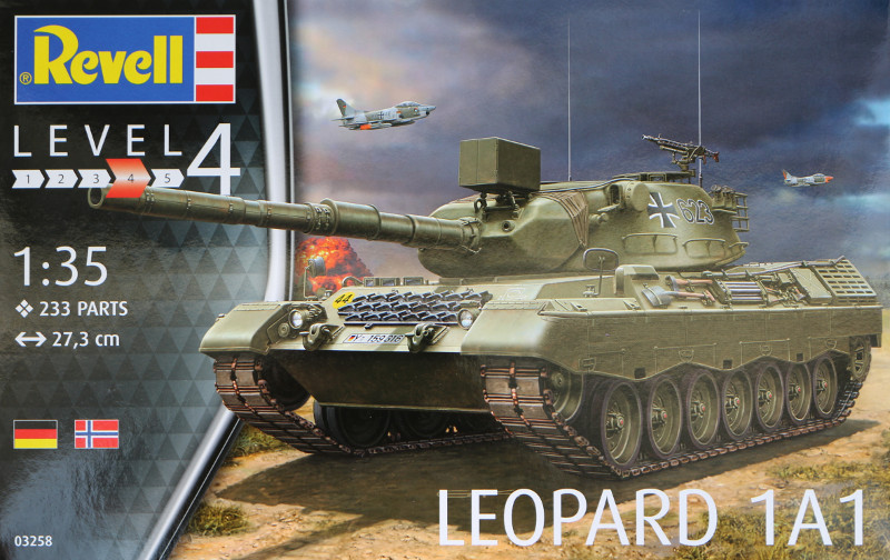 Box-2 Leopard 1A1 1:35 Revell (#03258 )