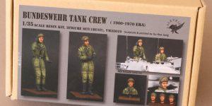 Bundeswehr Tank Crew (1960-1970 Era) 1:35 Valkyrie Miniatures #VM35019