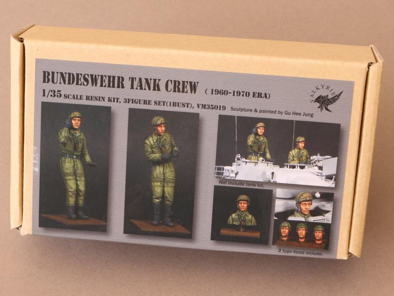 Box Bundeswehr Tank Crew (1960-1970 Era) 1:35 Valkyrie Miniatures #VM35019