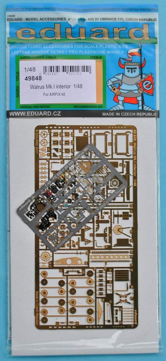 Eduard-49848-Walrus-Mk.-I-Interior-3 Eduard-Zubehör für die neue 48er Walrus von Airfix