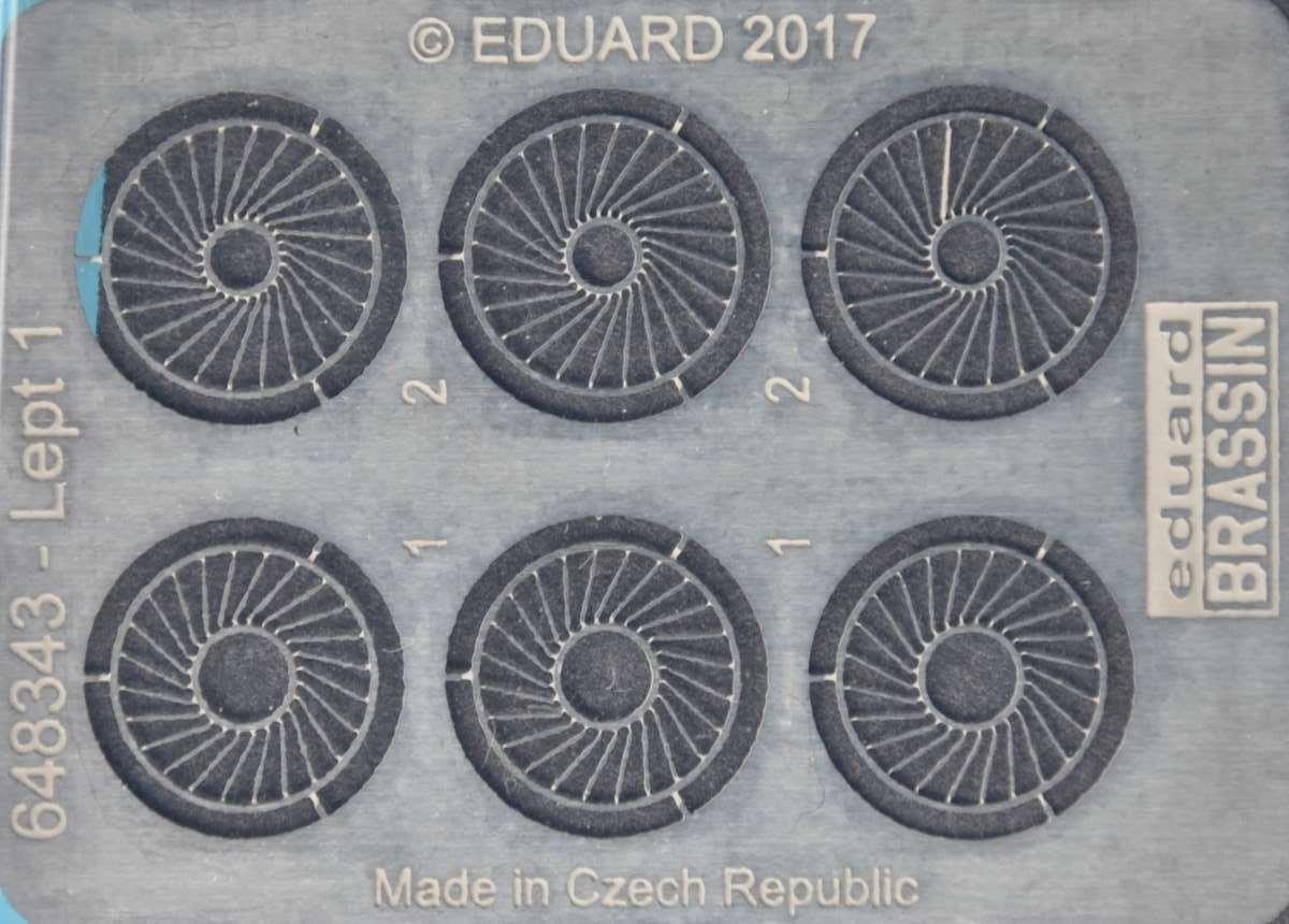Eduard-648343-Walrus-Mk.-I-Wheels-7 Eduard-Zubehör für die neue 48er Walrus von Airfix