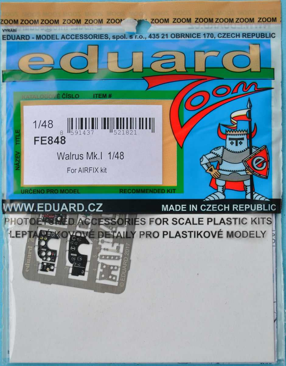 Eduard-FE-848-Walrus-Mk.-I-ZOOM Eduard-Zubehör für die neue 48er Walrus von Airfix