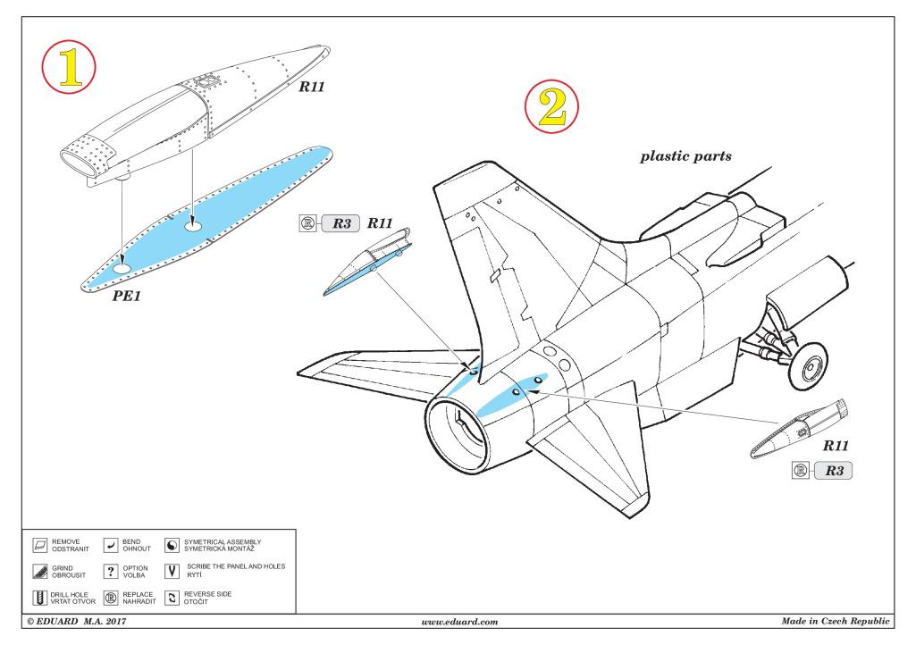 Eduard_Crusader_intakes_09 Zubehör für die F-8 Crusader von Eduard 1/48